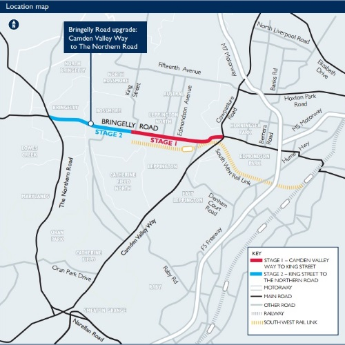 Bringelly Rd Upgrade